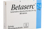 Betaserc 24 mg tablet 150x100 - Betaserc 24 MG Tablet
